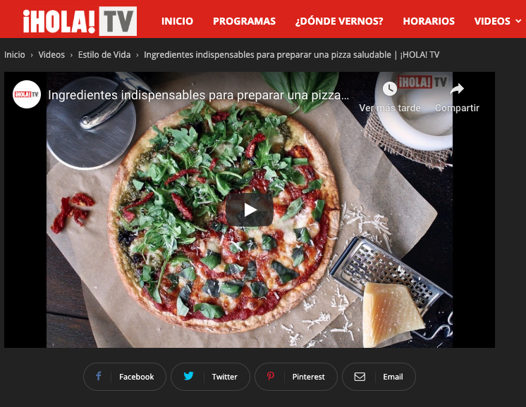 Ingredientes indispensables para preparar una pizza saludable | ¡HOLA! TV