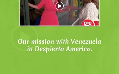 Our mission with Venezuela in Despierta America